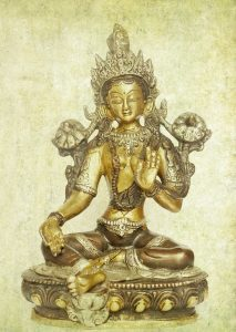 Statue of Tara, a Tantric Goddess